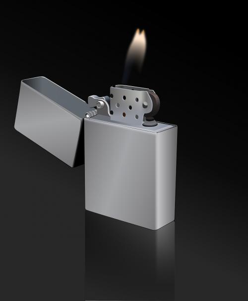 lighter flame fire