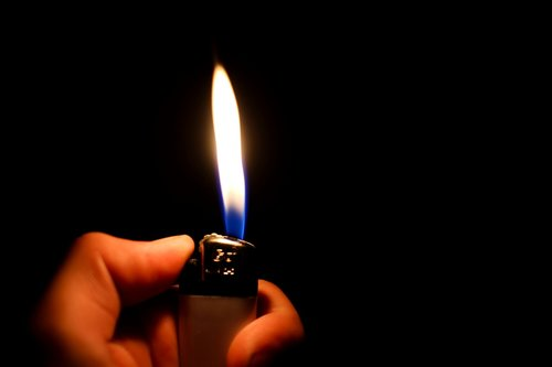 lighter  flame  fire