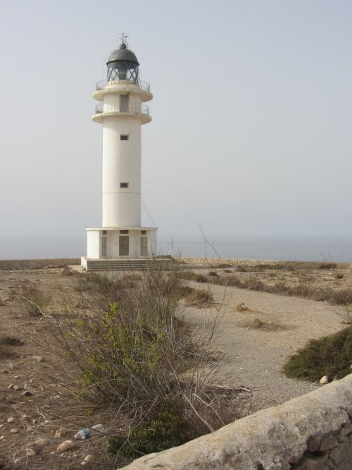 lighthouse formentera balearic islands