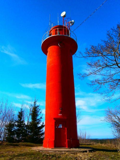 lighthouse sky spring