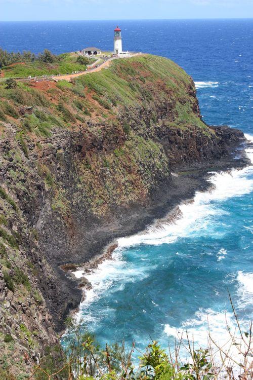 lighthouse headland hawaii
