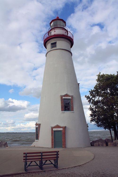lighthouse marblehead erie
