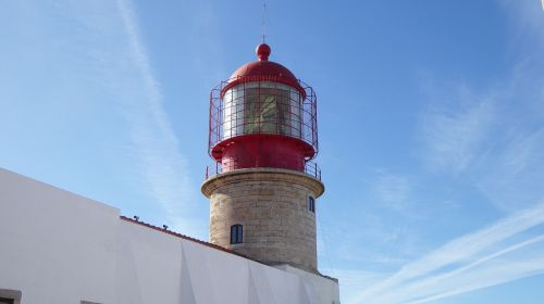 lighthouse sagres southern tip of portugal