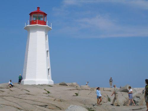 lighthouse peggy's cove nova scotia