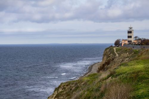 lighthouse sea anapa