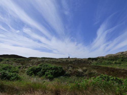 lighthouse sylt sky