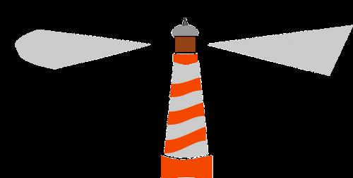 lighthouse blinking light