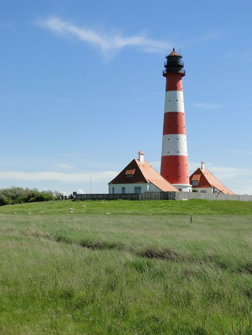 lighthouse westerhever world natural heritage