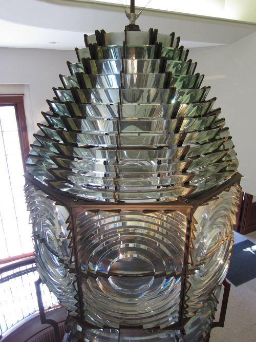lighthouse lens glass