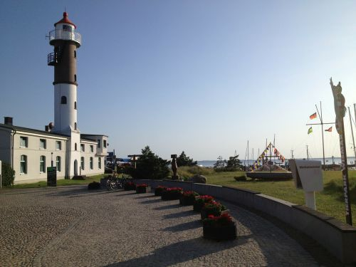 lighthouse timmendorf baltic sea