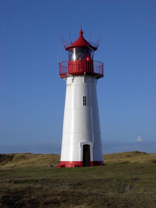 lighthouse list sylt