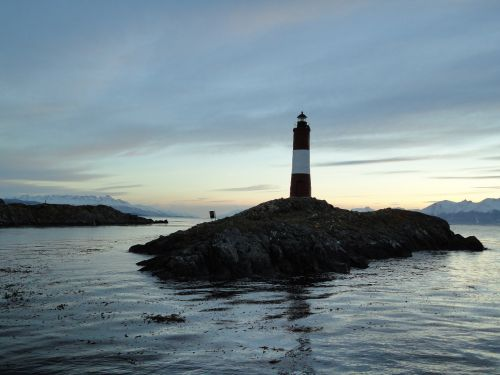 lighthouse beagle channel ushuaia