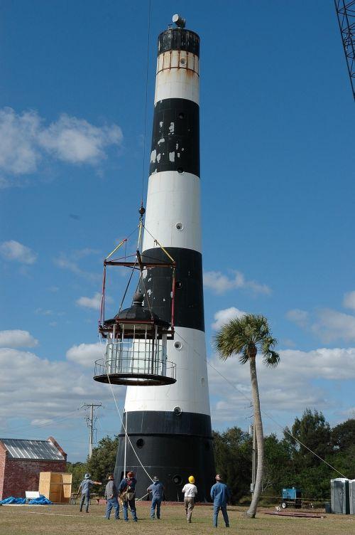 lighthouse lamp room maintenance