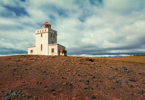 lighthouse steinig iceland