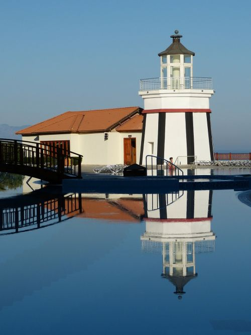 lighthouse sky holiday
