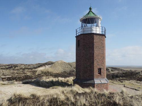 lighthouse sylt frisian islands