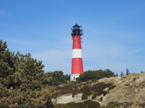 lighthouse hornum sylt