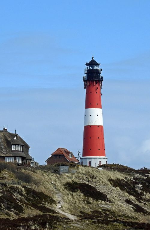 lighthouse sylt coast