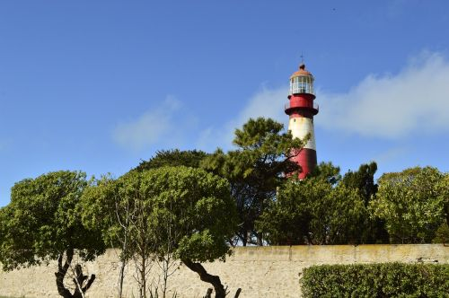 lighthouse beach landscape