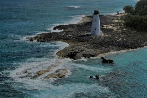 lighthouse beach coastline