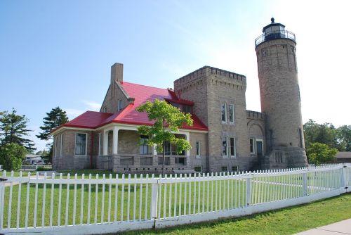 lighthouse old brick