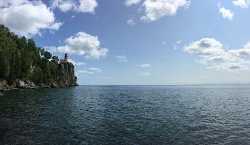 lighthouse split rock lake superior
