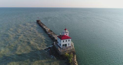lighthouse lake erie ohio