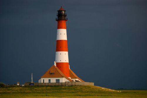 lighthouse north sea watch