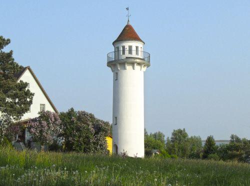 lighthouse baltic sea haff