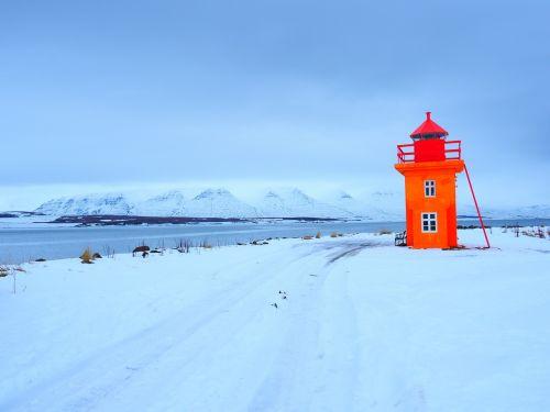 lighthouse tower orange