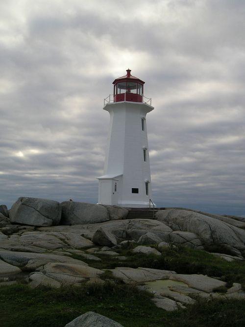 lighthouse nova scotia peggy's cove