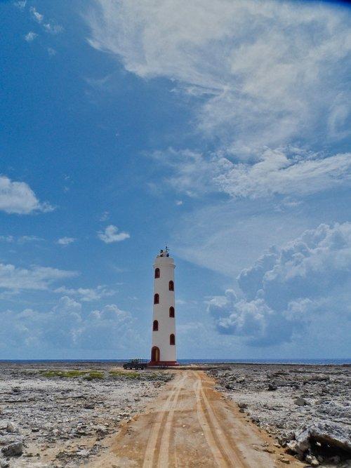 lighthouse  coast  bonaire