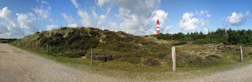 lighthouse panorama amrum