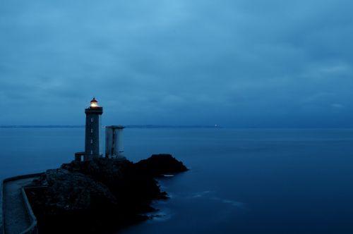 lighthouse phare du petit minou bay of brest