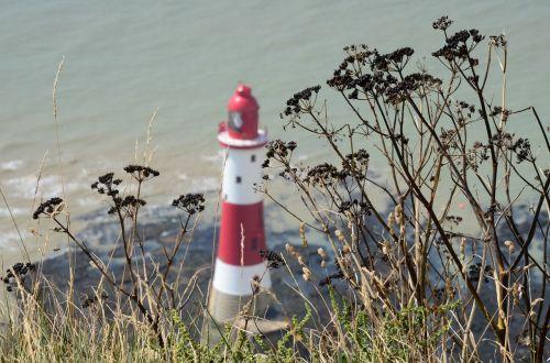 lighthouse coast sea