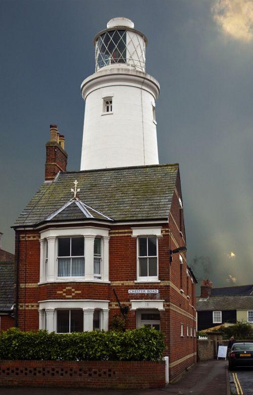 lighthouse inland house