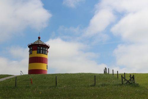 lighthouse east frisia pilsum
