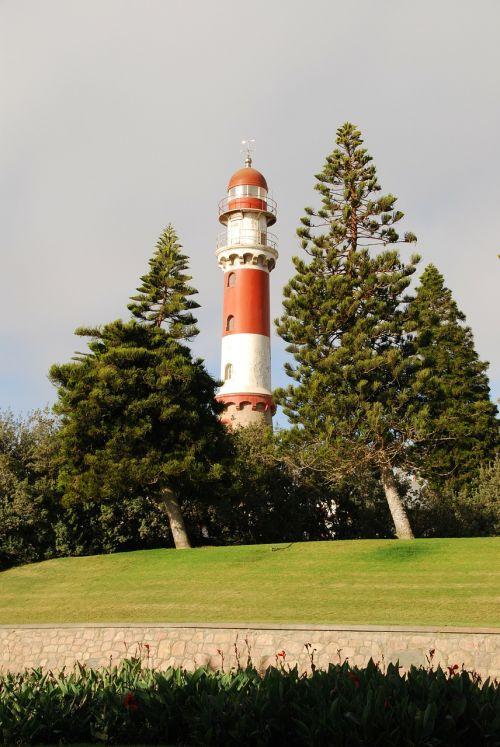 lighthouse swakopmund sea