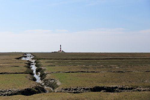 lighthouse westerhever salt meadow