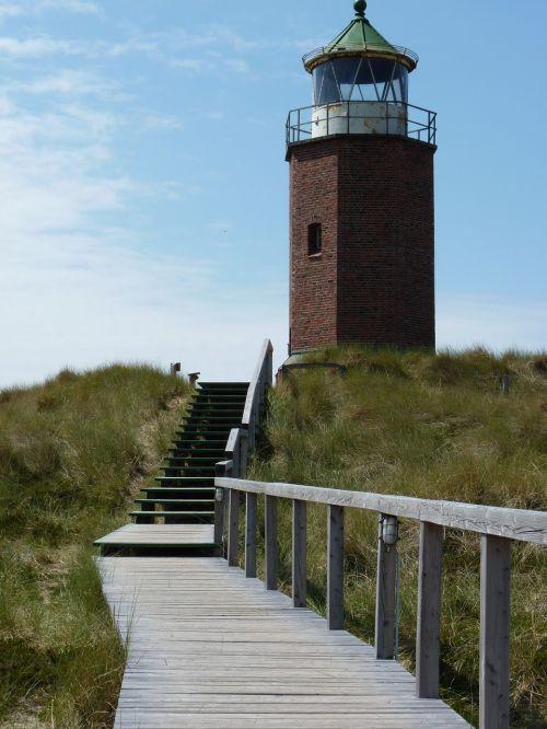 lighthouse sylt sun