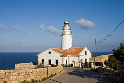 lighthouse mallorca balearic islands