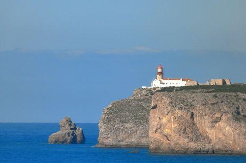 lighthouse kup sao vicente portugal algave