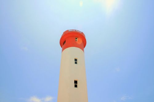 Lighthouse At Midday