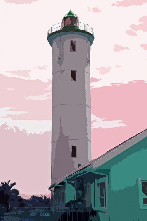 Lighthouse Cutout Image