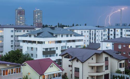 lighting urban city