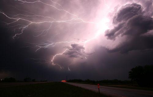 lightning thunder lightning storm