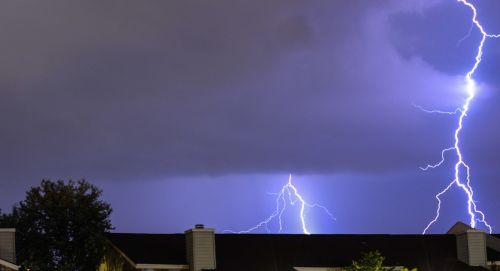 lightning kentucky weather