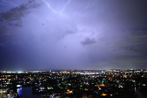 lightning electricity storm