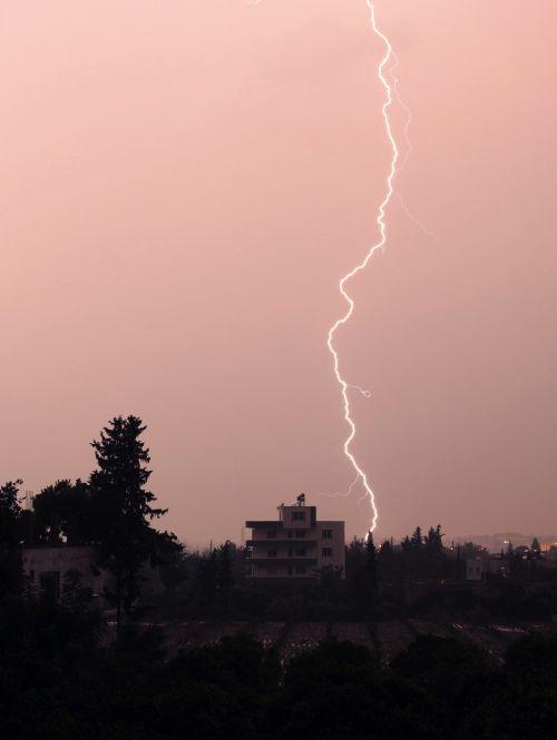 lightning night thunder