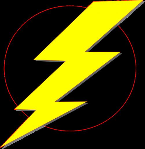 lightning flash electricity